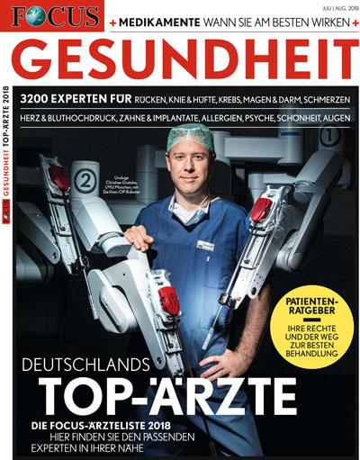 Focus Gesundheit Deutsche Top Ärzte, Ärzteliste Intimchirurgie