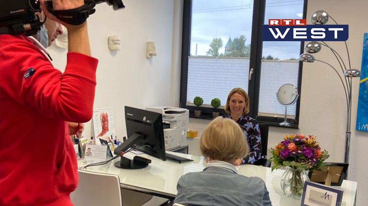RTL West Beitrag - Emsella-Behandlung gegen Inkontinenz