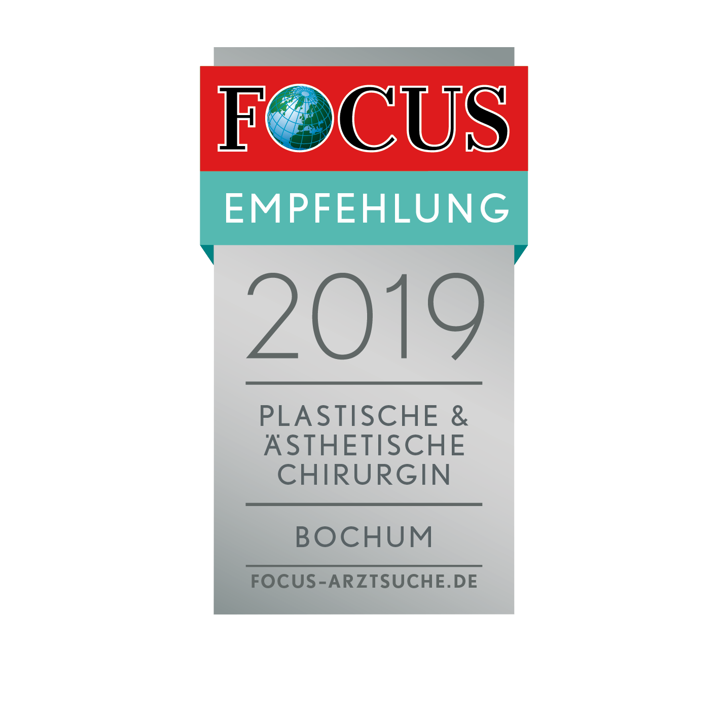 FCGA_Regiosiegel_2019_Plastische_Ästhetische_Chirurgin_Bochum